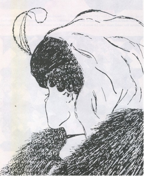 1888년 독일에서 인쇄된 엽서가 원작이라고 하는데 1915년 영국 만화가 윌리엄 힐이 '내 아내와 장모'라는 이름으로 발표했다