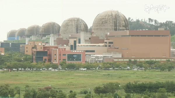 ▲ 전남 영광(한빛) 핵발전소 모두 6기가 가동 중이다.