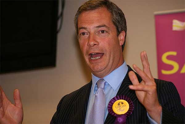 나이젤 파라지 영국독립당(UKIP) 당수